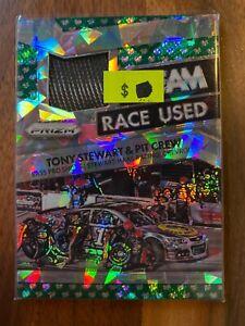 A69190 - 2016 Panini Prizm Race Used Tire Team Green Flag #12 Tony Stewart/149