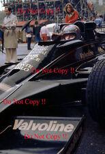 Mario Andretti JPS Lotus 78 Monaco Grand Prix 1977 Photograph 6