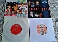 """4 X New Kids On The Block  7 """" Singles   2 PICTURE SLEEVES ALL VINYL EXCELLENT"""