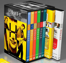 House M.D. MD: The Complete Series Season 1-8 (DVD, 2012 41-Disc Box Set) Sealed