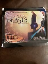 More details for panini harry potter fantastic beasts album sticker packs new sealed x25 packets