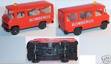 MICRO BERTREN HO 1/87 MB MERCEDES L 406 FIREFIGHTERS FIRE BOMBEROS
