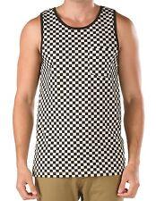 Vans Black & White Checkerboard Tank Top Shirt