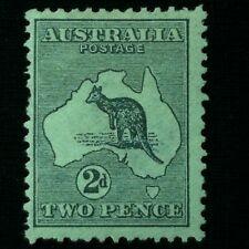Australia Sc #3 Mint H, Og 1913
