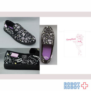 Creamy Mami Sneaker Shoes slip-on Black size M 23-24cm Japan Limited