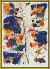 Framed Sam Francis The White Line Giclee Canvas Print Paintings Poster