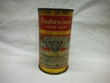 Budweiser Lager Flat Top Beer Can-A/B Brg.,St. Louis,Mo. (3 Cities) #44-8
