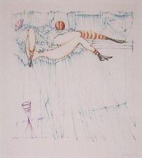 "Hans Bellmer ""Leida"" Original Etching S/N"
