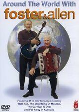 Foster & Allen - Around the World With Foster & Allen   NEW & SEALED DVD