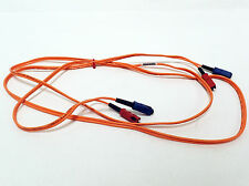 6FT SIECOR 02/98 OPTICAL CABLE 62.5/125 MICRONS DUAL SM TO DUAL SM
