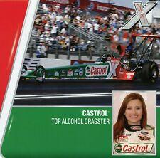 ASHLEY FORCE 2006 Top Alcohol Dragster NHRA Drag Racing Handout Postcard
