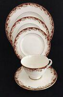Royal Doulton H4969 Winthrop 5 Pieces - Dinner, Salad, Tea Plates, Cup & Saucer