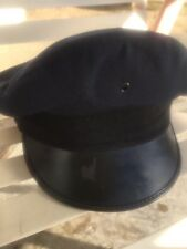 Blue uniform/ pilot hat by Superior Uniform Cap co.  Size S-M