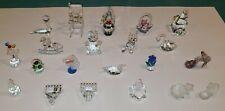 Crystal Figurine Collection - Swarovski & Other