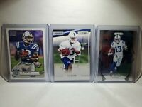 🔥 2012 T.Y. Hilton Rookie Lot Indianapolis Colts RC & 2017 Prizm Base