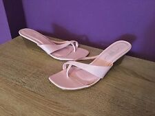 Women's New Look UK Size 6 Pink Sandals. Heel, Wedge, Beach, Casual, Holiday.