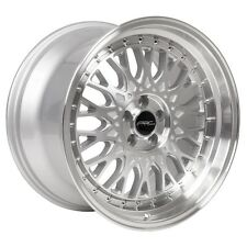 18x8.5 ARC AR1 5x100 +30 Silver Rims Fits Dodge Neon Srt4 Forester Outback