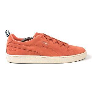 Puma Suede X Big Sean Mens 10 Low Melon Orange Shoes Sneakers Casual 366251-02