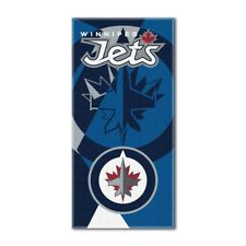 30 x 60 Multi Color Officially Licensed NHL Winnipeg Jets Zone Read Beach Towel