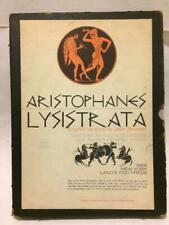 ARISTOPHANES: LYSISTRATA, limited ed. signed by J Brussel, illus. by A Beardsley