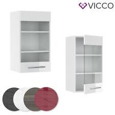 Hängeglasschrank Küchenschrank Hängeschrank Küchenzeile Fame-Line 40 cm Vicco