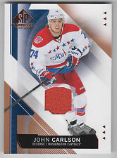 JOHN CARLSON 2015-16 Upper Deck SP Game Used Copper JERSEY #19 Capitals