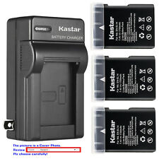 Kastar Battery Wall Charger for Nikon EN-EL14 MH-24 & Nikon D3200 DSLR Camera