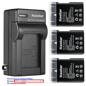 Kastar Battery Wall Charger for Nikon EN-EL14 MH-24 & Nikon D3200 DSLR Camera