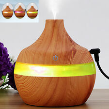 LED Ultrasonic Aroma Diffuser  Aromatherapy Purifier Essential Oil HumidifierSp
