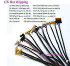 14Pcs Universal FPC/LVDS Cable 20 30 40Pin for 12''-65'' LCD Controller Board