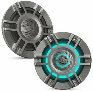 "NEW Infinity Kappa Marine 6125M 6.5"" 2-way Marine Speakers w/ Built-In RGB LED"