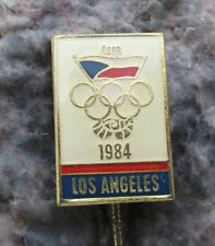 1984 Los Angeles Olympic Games America USA Olympics Official Logo Pin Badge