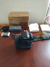 Nikon D D5 20.8MP Digital SLR Camera - Black (Body Only) (With CF Card Slot)