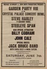 Steve Harley Cobham Jack Bruce John Cale show ad '75