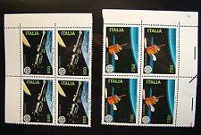 1991 Italie quatrains Europe 2 Valeurs MNh