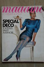 Revue MADAME FIGARO - N° 13571 - AVRIL 1988 - SPECIAL DECO - MARYLIN MONROE -