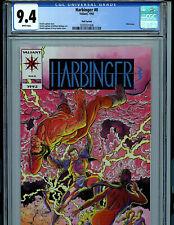 Harbinger Pink Premium Issue #0 CGC 9.4 NM Valiant Comics Amricons K22