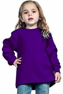 Kids Boy & Girl Thermal Waffle Warm Cotton Long Sleeve Crewneck Shirts ,S-XL