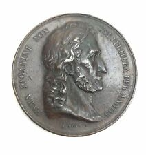 Nicolo PAGANINI (Violinist): Medal Commemorating his Paris Debut by Antoine BOVY