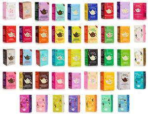 English Tea Shop Herbal Organic Tea Sachets Envelopes - Choose From 40+ Flavours