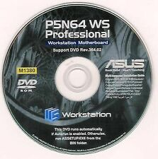 ASUS P5N64 WS PROFESSIONAL Motherboard Drivers Installation Disk M1380