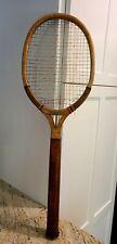 Vintage Antique? Speedwood Crown Wood Racket