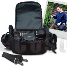 Large Camera/Video Padded Carrying Bag/Case for Olympus E-P5, E-Pm2, Om-D Camera