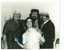 WWE PAUL HEYMAN Signed 8x10 Photo