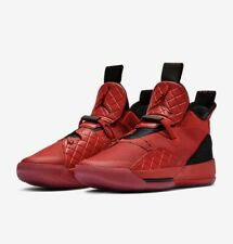 38cf289887c3a7 Air Jordan XXXIII 33 Gray Bred Red Mens Size 16 Basketball Shoes New Release