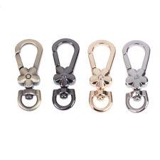 DIY Bag Accessories Metal Handbag Clasp Handle Flower Lobster Clips Snap Hook_ZT