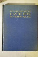 Cox the Master: Life Art David Cox, Roe, 1946, Cloth, Limited Ed, Illus