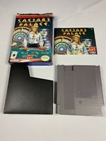 Caesars Palace (Nintendo Entertainment System NES) Cleaned Tested Works GREAT