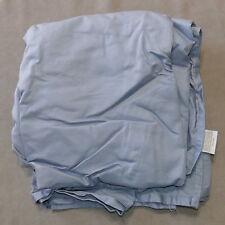Linens Sheet Full Double Flat 100% Cotton Target Cadet Blue As Is