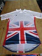 Fabulous TEAM GB World Champs Rowing JL RACING Short Sleeve Training TOP, XXL